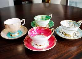 am dolce vita vintage teacup collection