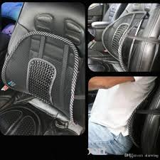 car seat massage cushions office chair back lumbar support mesh