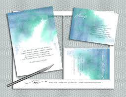 Diy Wedding Invitation Diy Watercolor Wedding Invitation Suite Printable Wedding