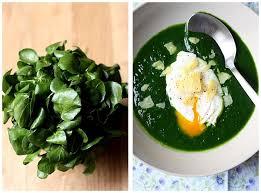 comment cuisiner le cresson oeuf poché et soupe de cresson recette gourmandiseries