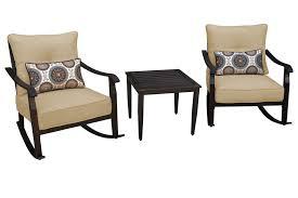 scottsdale 3pc rocker seating set patio furniture apollo
