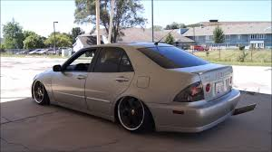 bagged lexus is300 brenden u0027s slammed is300 youtube