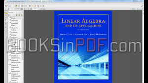 linear algebra and its applications 5th edition pdf free on vimeo