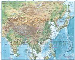 Political Map Of East Asia by Digital Vector Africa Political Map 10 000 000 Scale In