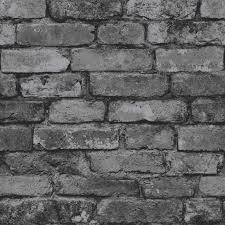black and white wallpaper ebay grey brick effect wallpaper suitable for any room ebay
