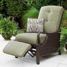 Metal Reclining Garden Chairs Outdoor Patio Recliners Foter