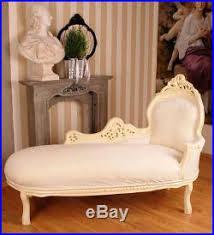 canape baroque grande recamiere canapé baroque style blanc chaise longue