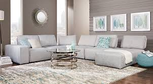 Rooms To Go Living Rooms - sectional sofa sets large u0026 small sectional couches