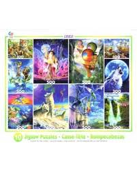 deal on 10 glow in the jigsaw puzzles