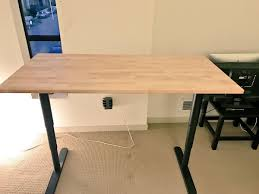 Ikea Stand Desk by Mark Otto On Twitter