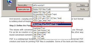 convert pdf to word with acrobat how do i convert pdf to word 2 professional approach part 2
