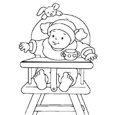 bébé en dessin az coloriage