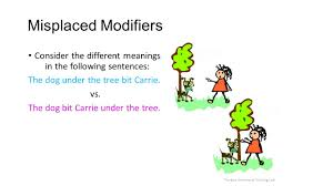 purdue university writing lab misplaced modifiers consider the