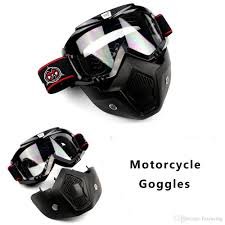 thor motocross goggles motorcycle goggles and breathing mask detachable cross country