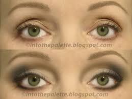 eyeshadow application on hooded eyes