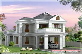 Floor Plan With Elevation by Floor Plan And Elevation Of 2336 Sq Feet 4 Bedroom House Home