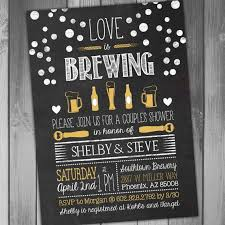 coed bridal shower bridal shower invitation is brewing invitation coed bridal