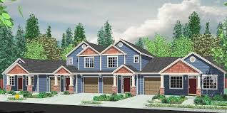 Multiplex Floor Plans 4 Plex House Plans Multiplexes Quadplex Plans