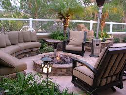 decorating outdoor relaxing space in the garden best home