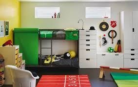 Ikea Childrens Bunk Bed Ikea Boys Room Great Home Interior And Furniture Design Ideas By