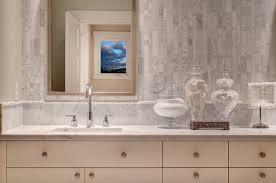 Linear Tile Backsplash Design Ideas - Tile backsplash bathroom