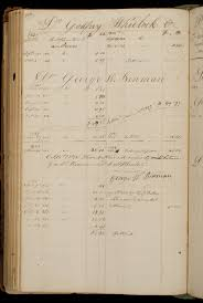 encoding financial records for historical research