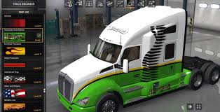 kenworth dealer kenworth t680 gold edition trailer skin american truck