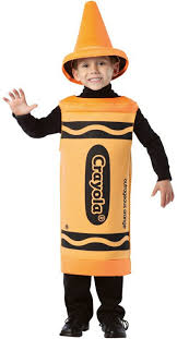 Crayon Costume Outrageous Orange Crayon Costume Girls Costumes Kids Halloween