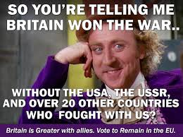 So You Re Telling Me Meme - jon danzig s world britain needed many allies to win two world wars