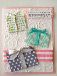 stampin u0027 up handmade birthday card stamp by mail project