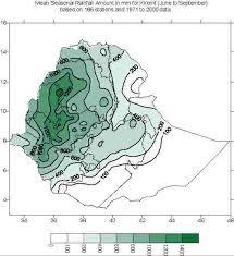 Map Of Ethiopia Seasons In Ethiopia Flooding In Ethiopia
