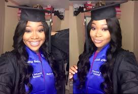grwm my graduation hairstyle ft west kiss brazilian body wave