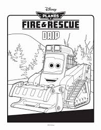 planes fire and rescue coloring pages