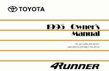 1998 toyota 4runner owners manual toyota car truck repair manuals literature ebay