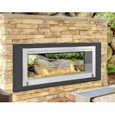 Sided Outdoor Fireplace - outdoor fireplaces you u0027ll love wayfair