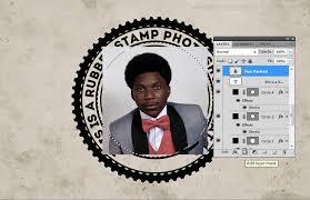 membuat efek stempel dengan photoshop cara membuat efek stempel karet dalam adobe photoshop