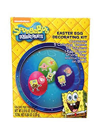 Easter Egg Decorating Kits Uk by Nickelodeon Sponge Bob Squarepants Easter Egg Decorating Kit
