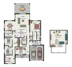 single story multi generational house plans