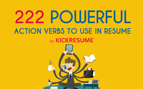Words To Use In Resumes 100 Actions Words For Resume How To Use Action Verbs In