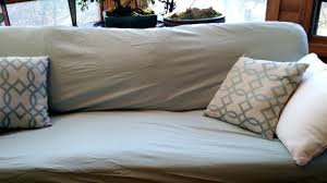 Diy Sofa Slipcover No Sew by Cover A Couch With Bed Sheets For A Fresh Clean Look This Is My