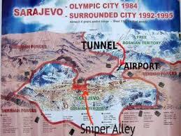 siege de sarajevo sarajevo siege map 1992 1993