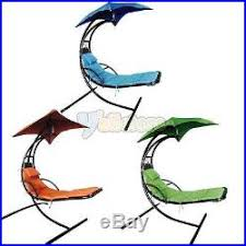 Hanging Chaise Lounge Chair Lounger Garden Swings