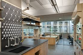 Glass Partition Design Energy Intensive Laboratory Spaces Are Grouped And Separated From