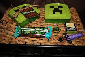 minecraft goody bags 25 minecraft birthday party ideas burnt apple craft