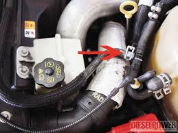 where is the fuel pressure regulator where is the location of the 6 4l problems diesel power magazine