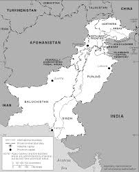 Physical Blank Map Of India by Atlas Of Pakistan Wikimedia Commons