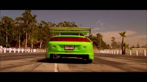 mitsubishi eclipse fast and furious fast furious 2001 brian opening scene 1995 mitsubishi eclipse