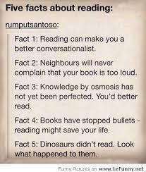 funny quotes about reading Passionative