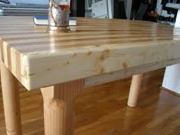 Kitchen Table Butcher Block by Good Butcher Block Dining Room Table 92 In Small Home Decor