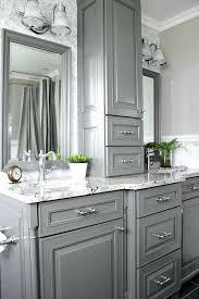 Custom Bathroom Vanity Ideas 25 Beautiful Gray Bathrooms Custom Cabinetry Vanities And Storage